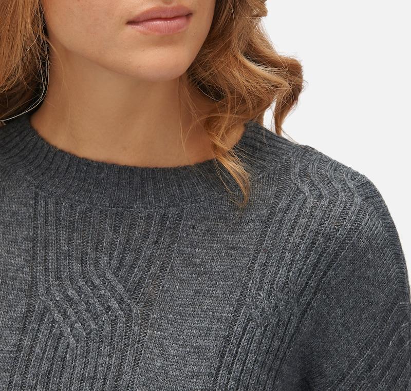 TOM TAILOR knit Pullover mit Strickmuster