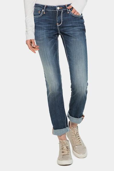 Soccx Jeans 'RO:MY' in blue denim, Modelansicht