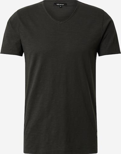 SHINE ORIGINAL Shirt 'Slub TEE' in schwarz: Frontalansicht
