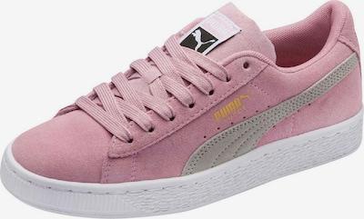 PUMA Sneaker 'Suede Classic Jr' in grau / altrosa, Produktansicht
