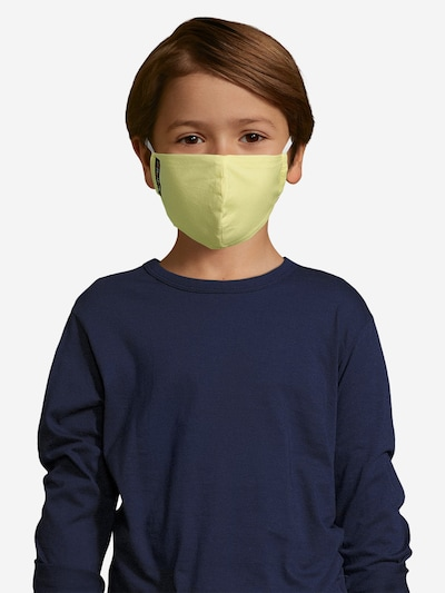 ABOUT YOU Kinder - Stoffmasken 3er Pack 'Nuria' in grün / pink: Frontalansicht