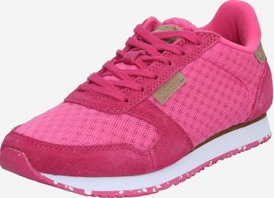 WODEN Sneakers laag in de kleur Fuchsia / Wit, Productweergave