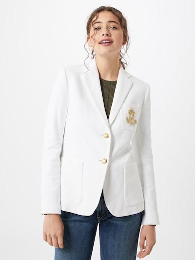 fehér Lauren Ralph Lauren Blézer 'ANFISA', Modell nézet