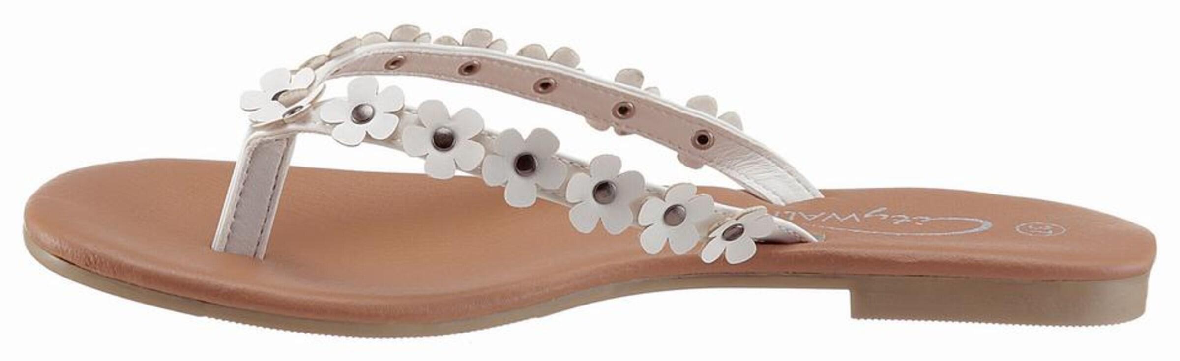 CITY WALK Zehentrenner Verschleißfeste billige Schuhe