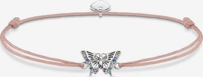Thomas Sabo Armband 'Little Secret Schmetterling, LS082-640-7-L20v' in altrosa / silber, Produktansicht