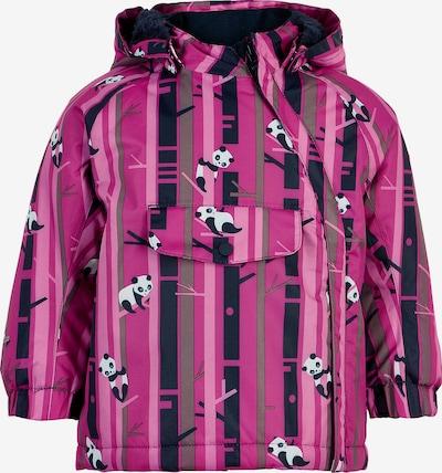 COLOR KIDS Jacke in grau / pink / eosin / weiß, Produktansicht