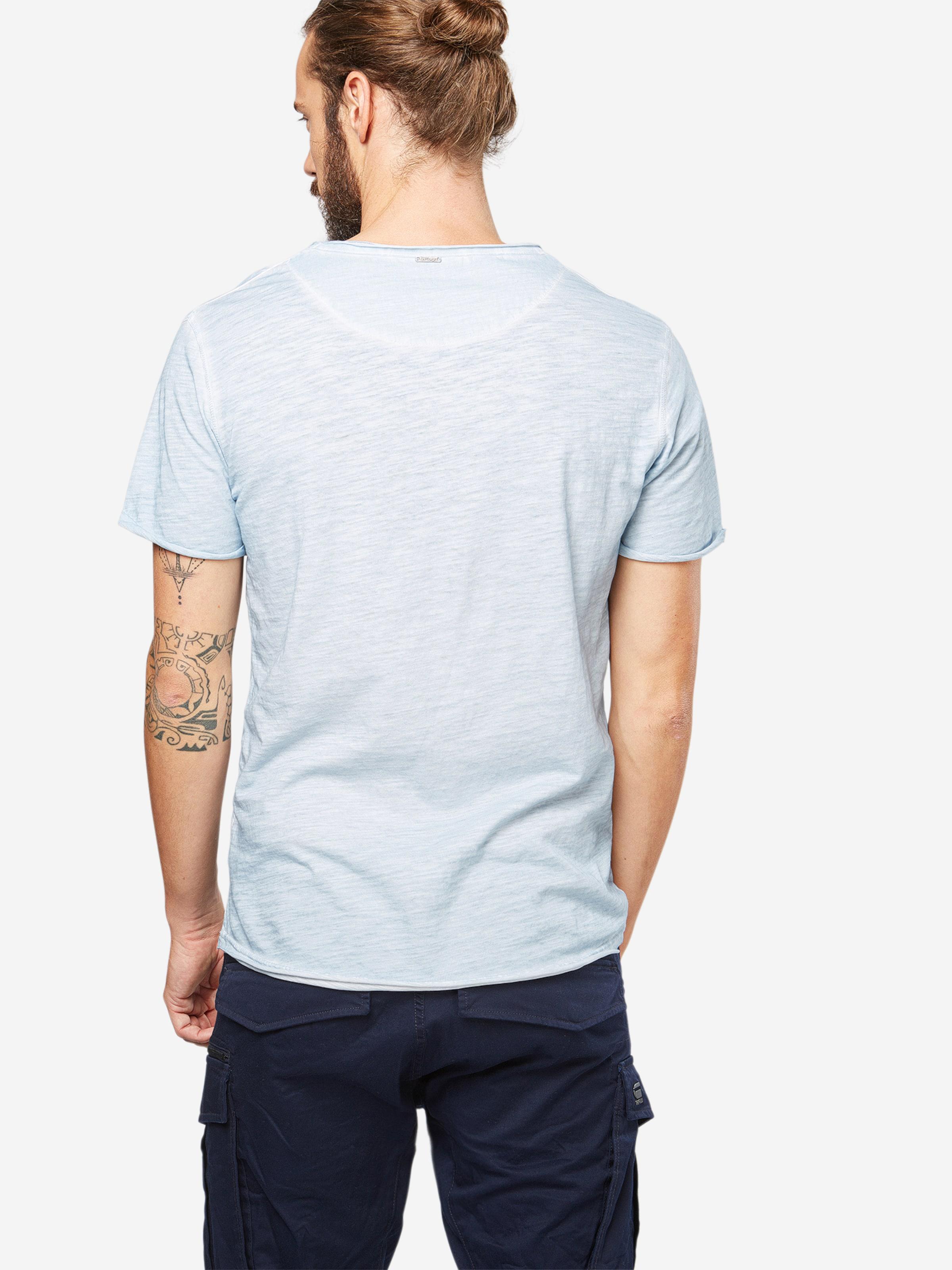 mit V Largo Ausschnitt Key Largo Key Shirt T mit Shirt T 1wfUHqxf7