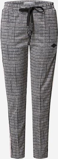 REPLAY Broek in de kleur Grijs / Zwart / Wit, Productweergave