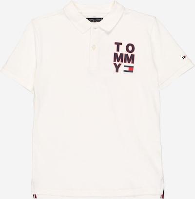 TOMMY HILFIGER Shirt in dunkelblau / rot / weiß, Produktansicht