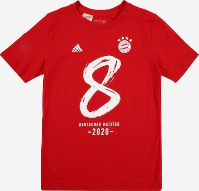 ADIDAS PERFORMANCE T-Shirt fonctionnel 'FCB M20' en rouge / blanc: Vue de face