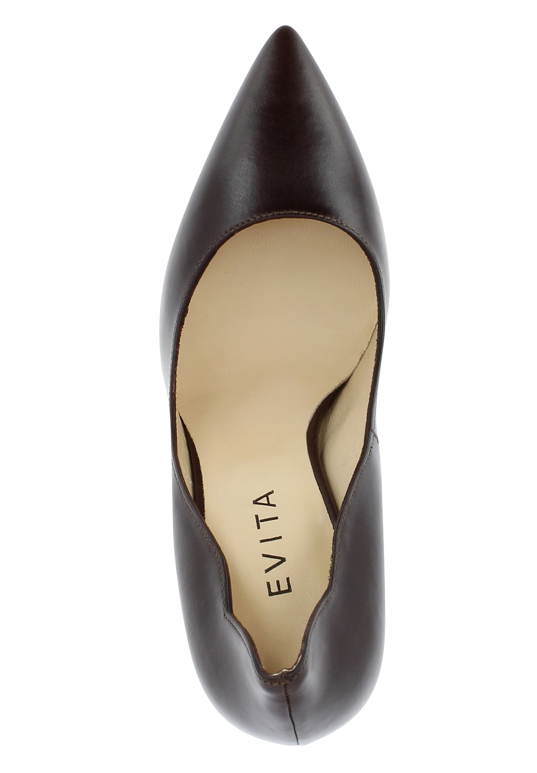 Damen Damen In Evita In Evita Dunkelbraun Evita Pumps Pumps Damen Dunkelbraun OXP8nZN0kw