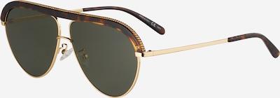 Stella McCartney Sonnenbrille in gold / grün, Produktansicht