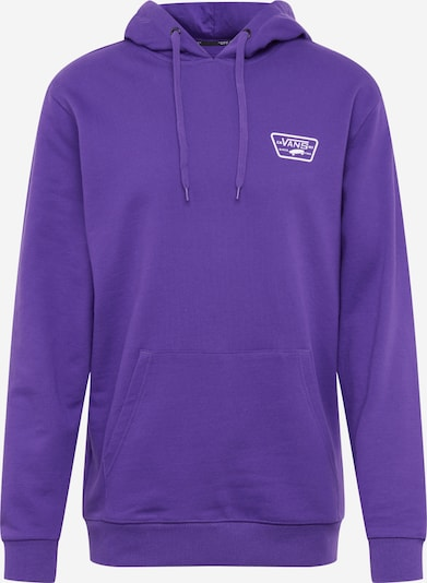 VANS Sweat-shirt 'FULL PATCHED PO II' en violet / blanc, Vue avec produit