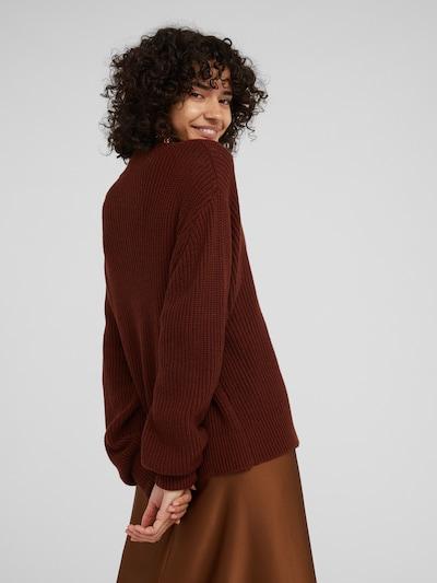 Megztinis 'Josiah' iš EDITED , spalva - ruda: Vaizdas iš galinės pusės