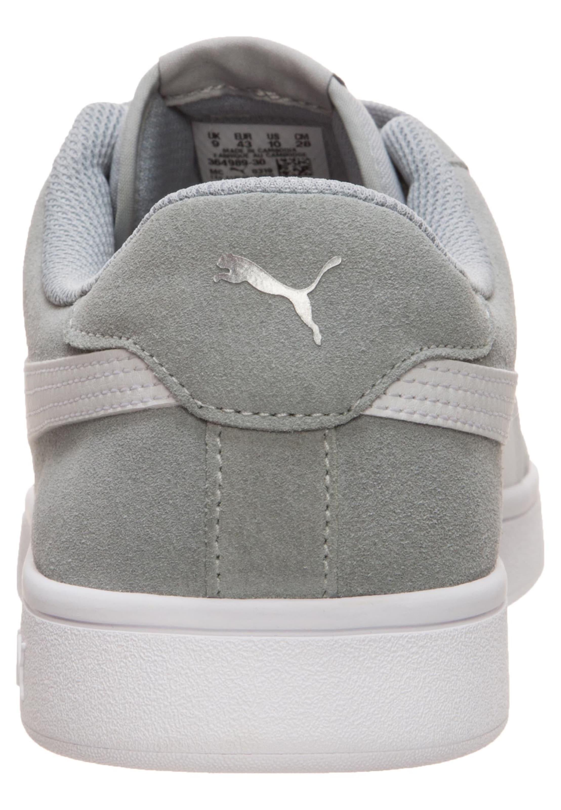 'smash In GrauWeiß V2' Sneaker Puma 1TclF3KJ