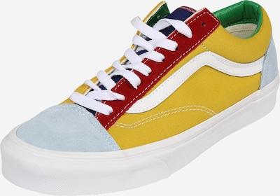VANS Sneaker in hellblau / gelb / grün / rot, Produktansicht