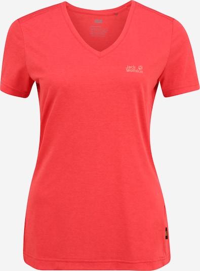 JACK WOLFSKIN Sportshirt 'Crosstrail' in rot, Produktansicht