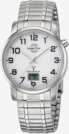 Master Time Uhr 'MTGA-10306-12M' in silber / weiß, Produktansicht