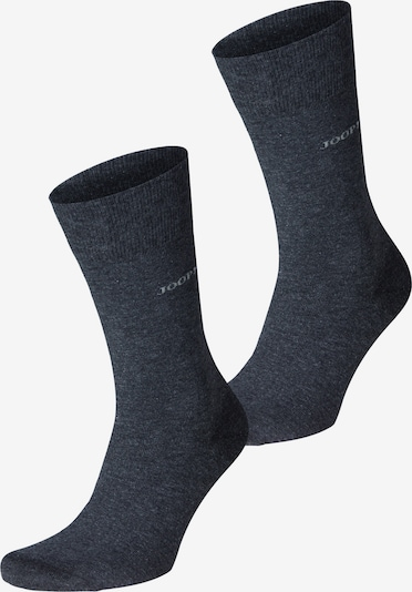 JOOP! Socken 'Fine Cotton' in anthrazit, Produktansicht