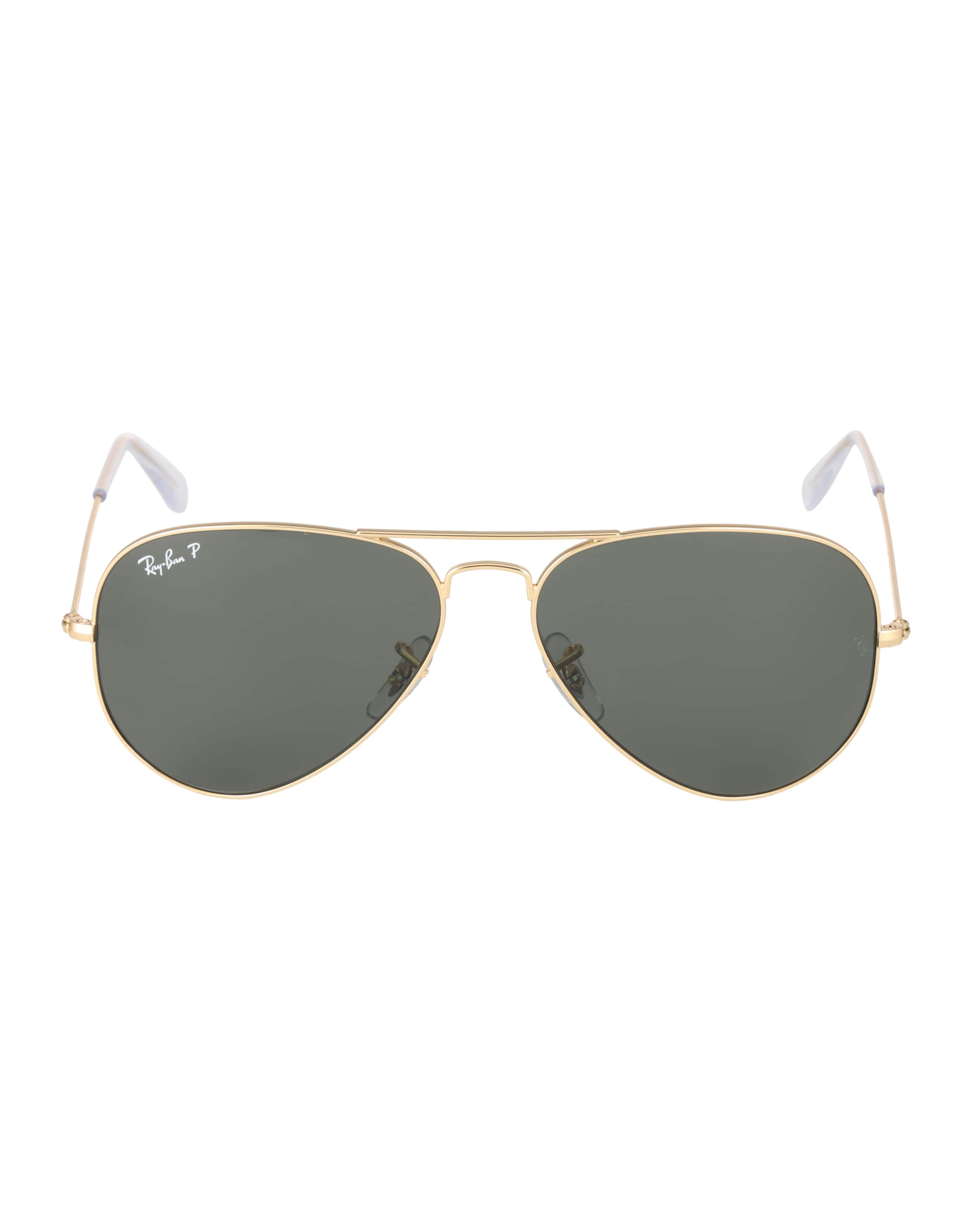 Piloten GoldGrün 'aviator' Ray ban In sonnenbrille 29YHIWED