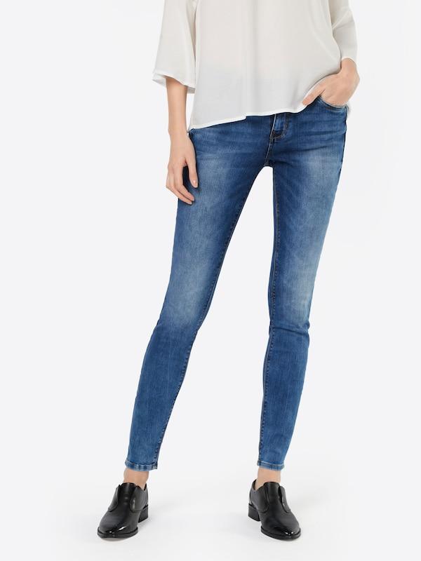 TOM TAILOR DENIM Skinny Jeans 'Jona Deep Indigo'