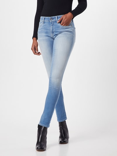 REPLAY Jeans 'New Luz' in de kleur Blauw denim, Modelweergave