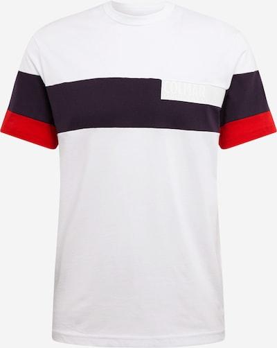 Colmar Shirt in de kleur Nachtblauw / Rood / Wit, Productweergave