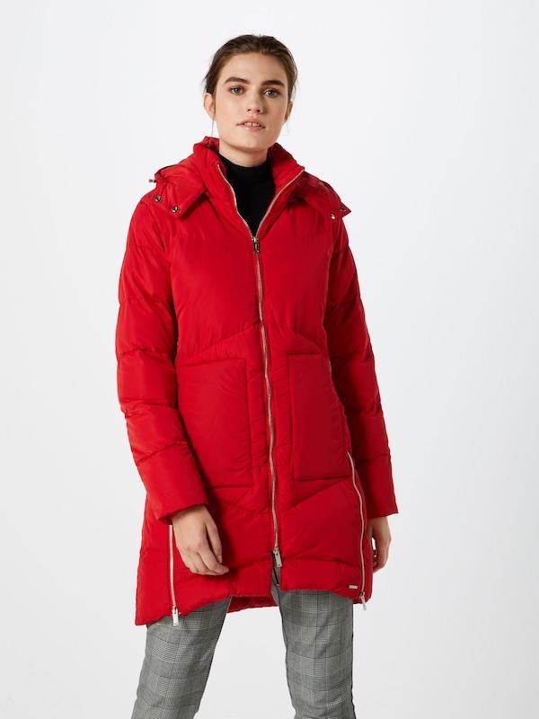 Rinoamp; Memory' Manteau Pelle En 'faux D'hiver Orangé Rouge 2HIWED9