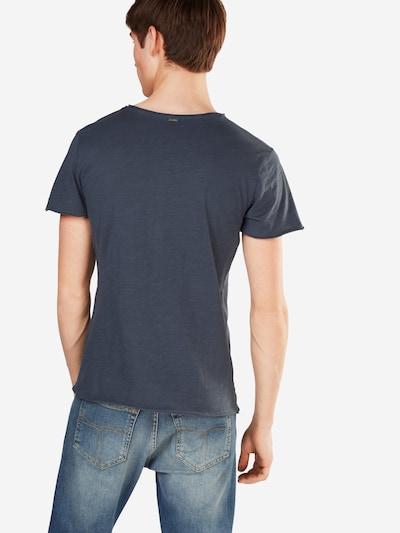Key Largo T-Shirt 'MT LEMONADE button' in taubenblau: Rückansicht