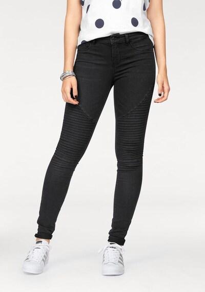 ONLY Jeans 'Royal' i svart denim, På modell