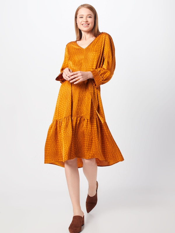 Gestuz Kleid 'Tabby' in orange, Modelansicht