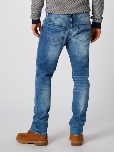 BLEND Jeans 'Blizzard' in blue denim: Rückansicht