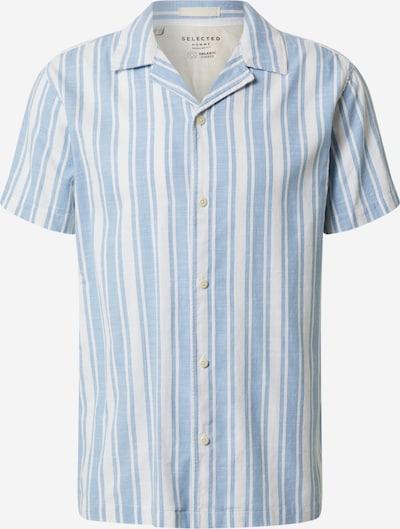 SELECTED HOMME Hemd 'REGAVENUE' in hellblau / weiß, Produktansicht