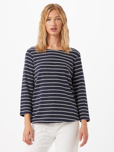 CECIL Shirt in de kleur Navy / Wit: Vooraanzicht