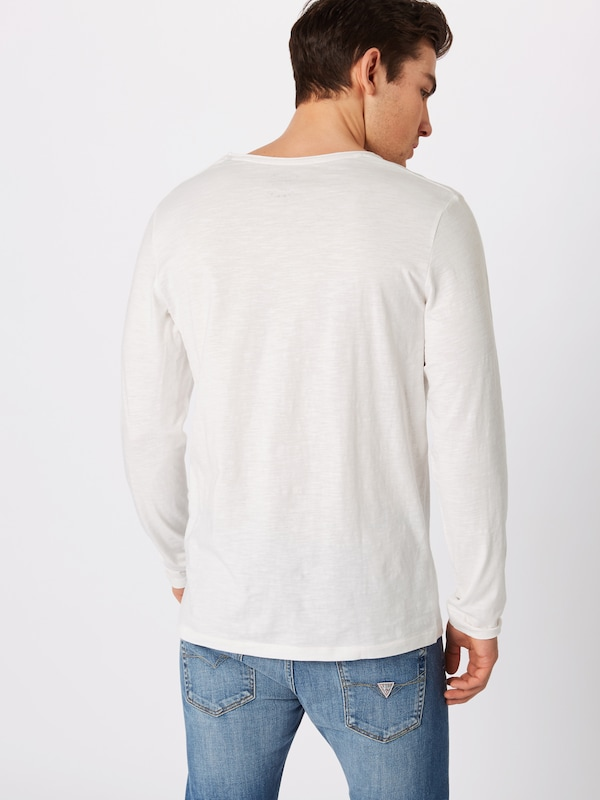 Blanc neck' T Tee 'jorbirch Jones shirt V Ls En Jackamp; tsQrCdxh