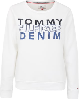 Tommy Jeans Sweater mit Label-Print