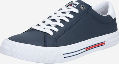 Tommy Jeans Sneakers laag in de kleur Navy / Wit, Productweergave