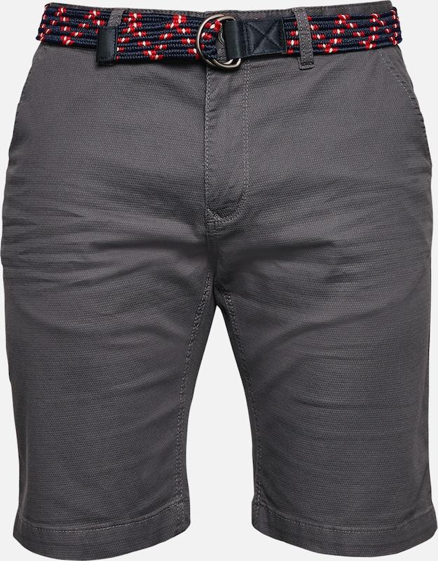 Q S designed by Bermuda in basaltgrau  Markenkleidung für Männer und Frauen