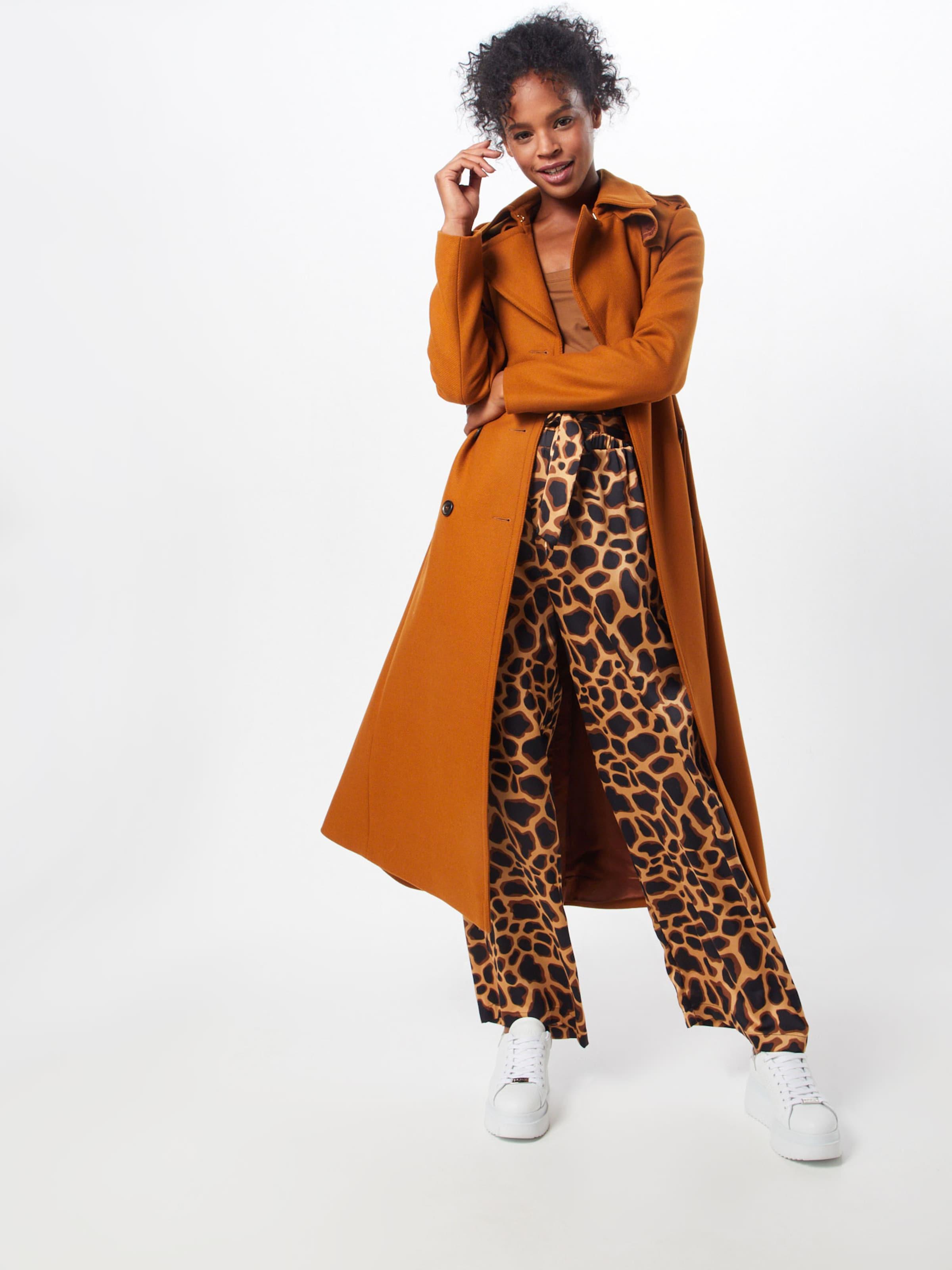Pantalon 'gerda FoncéNoir Beige En Object Karen' Tess XPiTZOku