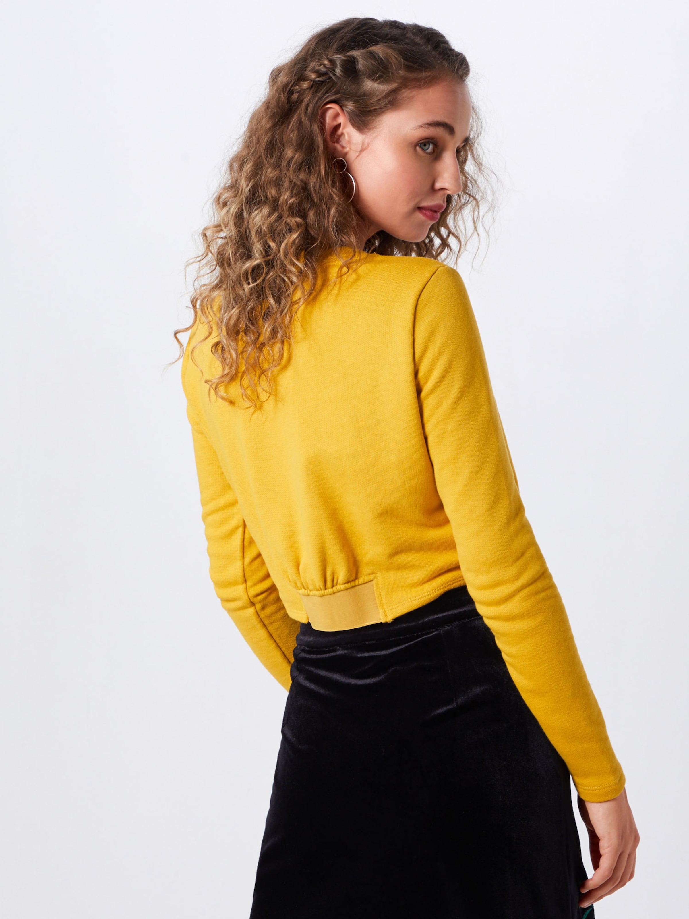 May L Curry Sweatshirt 'nmecem s Cropped Fdx' Noisy Sweat In LR543Ajq