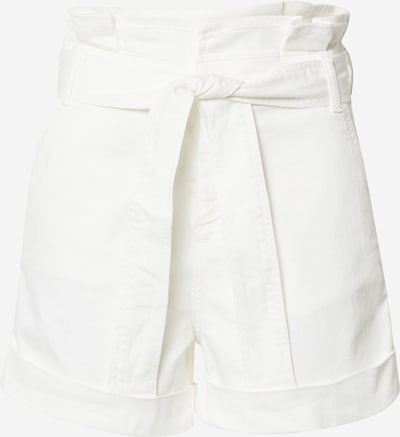 LIU JO JEANS Shorts 'Paperbag' in white denim, Produktansicht