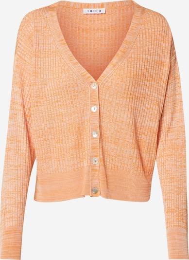 EDITED Cardigan 'Beryl' in beige / orange, Produktansicht
