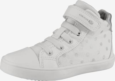 GEOX Sneakers High 'Gisli' in silber / weiß, Produktansicht