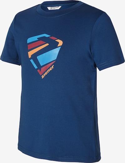 ZIENER T-shirt 'Nusumu' in blau, Produktansicht