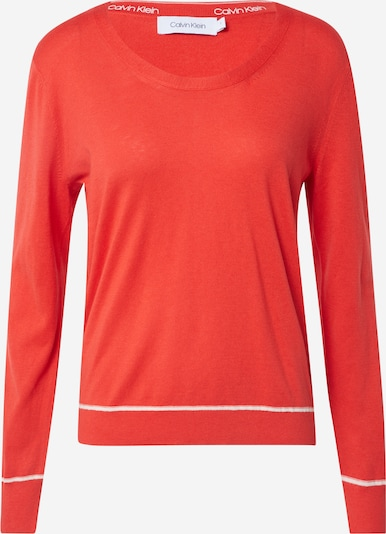 Megztinis be užsegimo iš Calvin Klein , spalva - raudona, Prekių apžvalga