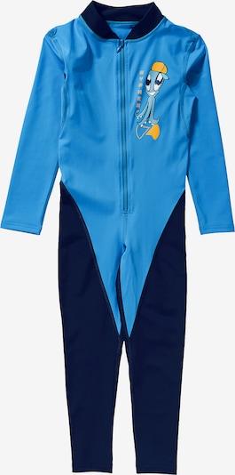 HYPHEN Schwimmanzug in nachtblau / himmelblau, Produktansicht
