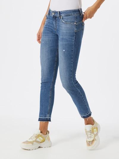 LIU JO JEANS Jeans 'New Ideal' in blue denim, Modelansicht
