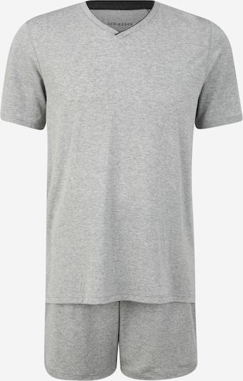 SCHIESSER Schlafanzug in graumeliert, Produktansicht