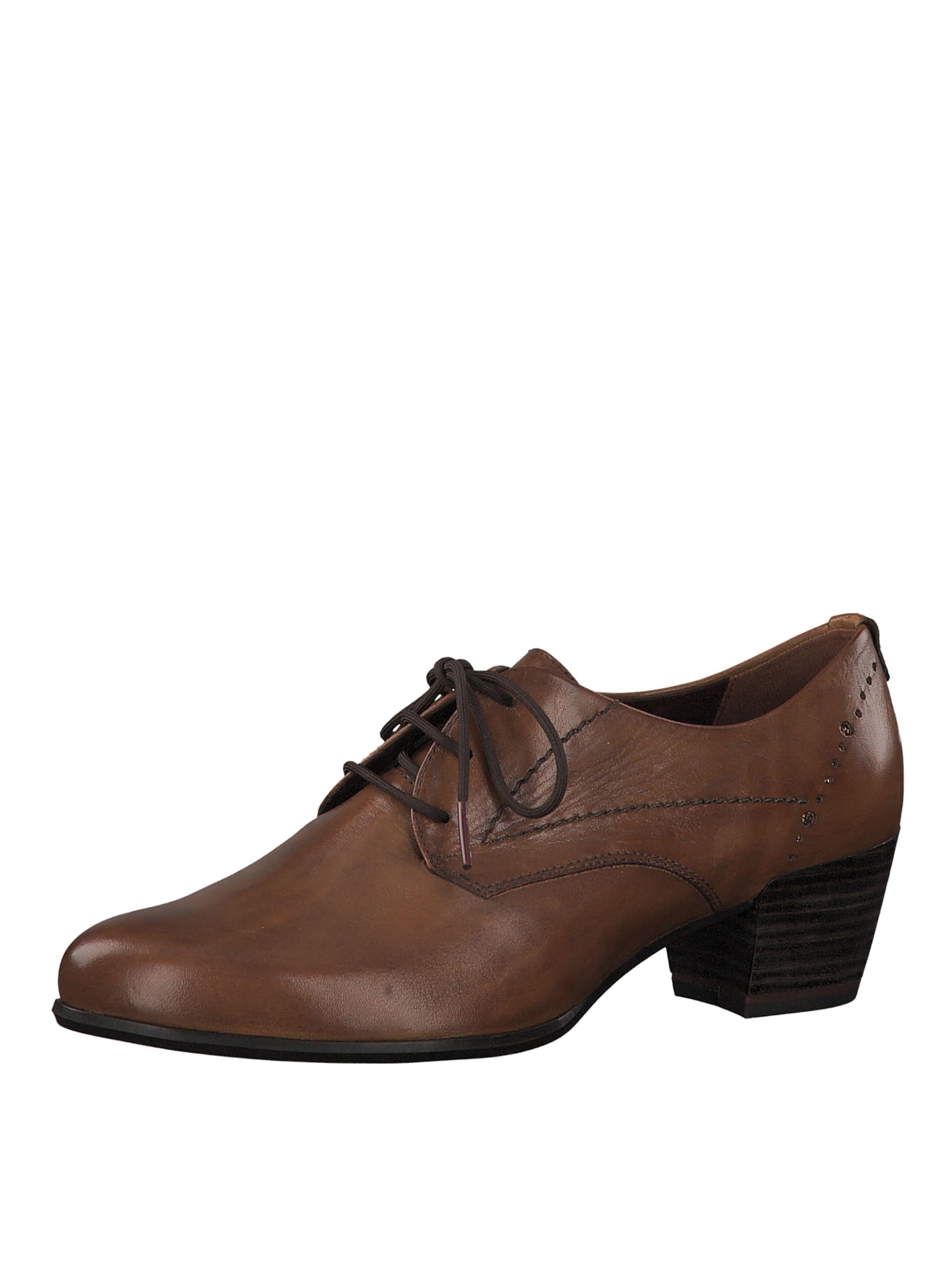 Lacets Châtaigne Chaussure À Marron Tamaris En 35Lc4qRjA