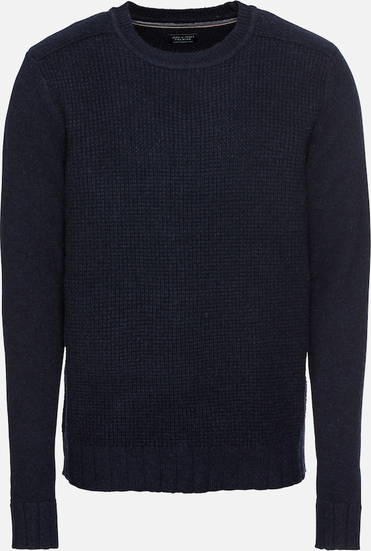 Neck' Marine over En Jackamp; Jones Pull Crew 'jprrossy Bleu Knit 1lJ3cTFK